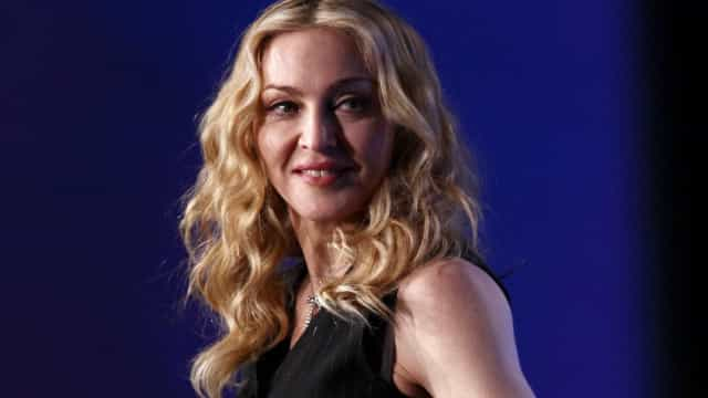 Depois do jogo, Madonna surge com cachecol de Portugal