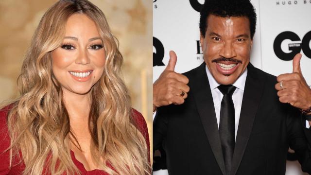 """O conselho de Mariah Carey a Lionel Richie: """"Não faças isso"""""""