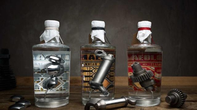 Luxuoso gin tem sabor a Harley Davidson. Não acredita? Veja