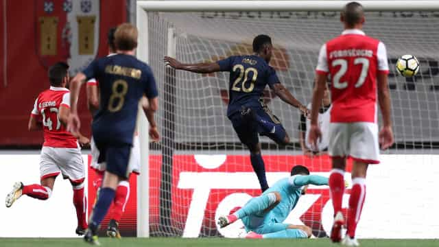 [1-1] Sp. Braga-AIK: A partida segue para prolongamento em Braga