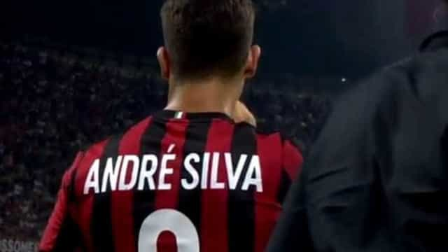 Assim foi a estreia de André Silva no San Siro