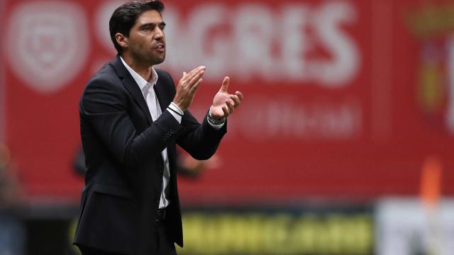 """Abel avisa Benfica: """"O nome do adversário não nos desvia de nada"""""""
