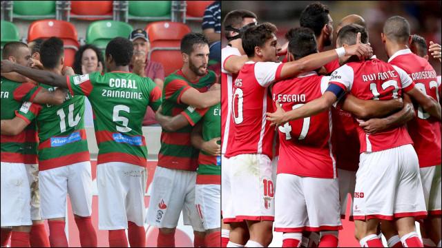 A Europa ficou perto, tão perto para Marítimo e Sporting de Braga