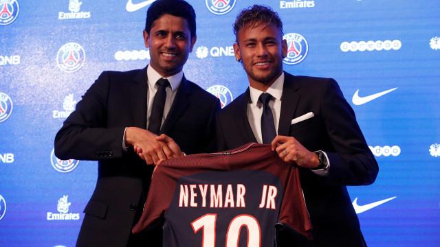 Presidente do Paris SG sentencia futuro de Mbappé e Neymar