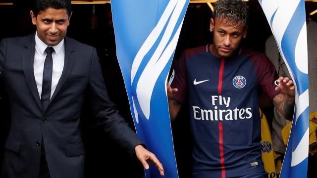 Presidente do PSG já falou sobre o desentendimento entre Neymar e Cavani