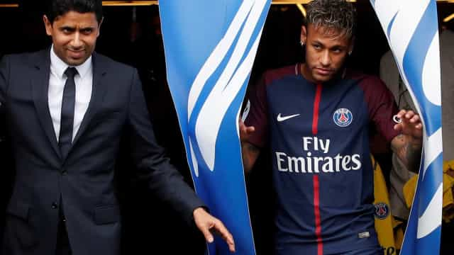 "Neymar no Real Madrid? ""Impossível"", garante presidente do PSG"