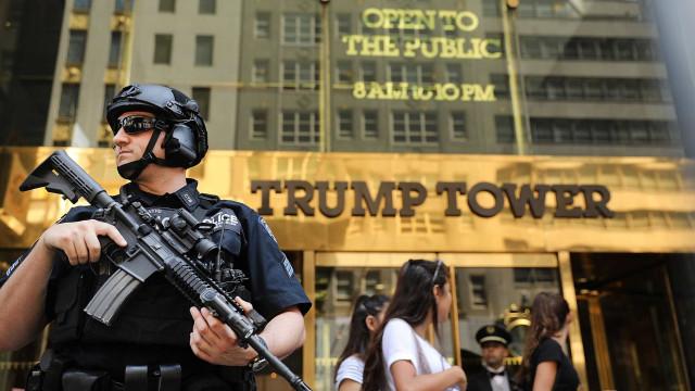 Serviços secretos abandonam Torre Trump e mudam-se para caravana na rua