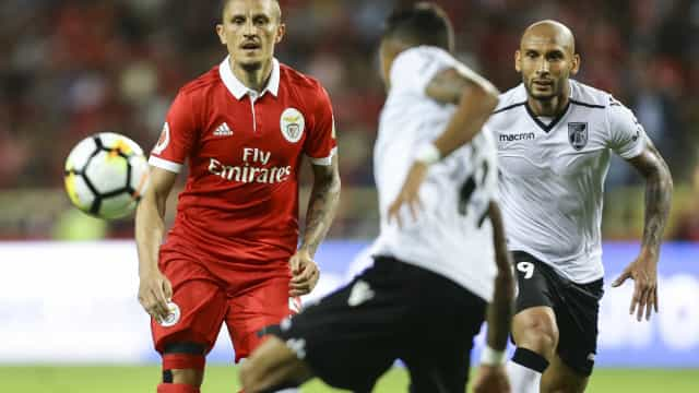 [2-1] Rui Vitória tira Salvio e lança Filipe Augusto