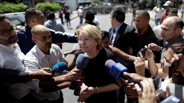 Ex-procuradora denuncia um golpe de Estado e recusa destituição
