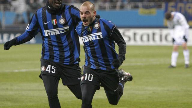 Dupla Sneijder-Balotelli prestes a ser reeditada