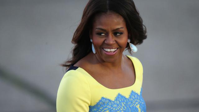 Michelle Obama quer conhecer o filho mais novo de Kate e William