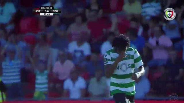 Acuña descobriu Gelson que fez assim o primeiro golo em 2017/18