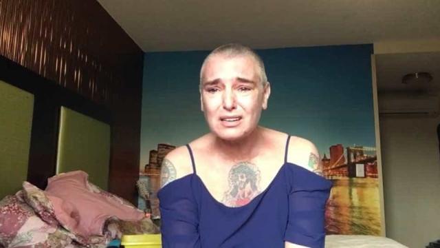 """Sinead O'Connor faz apelo desesperado: """"Eu não quero morrer"""""""