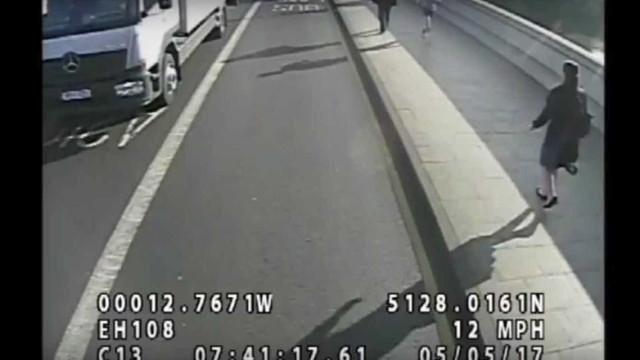Empurrão contra autocarro: Banqueiro retirado da lista de suspeitos