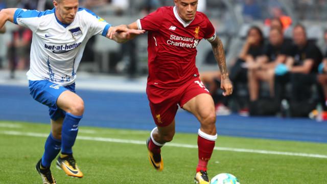 Sky Sports: Liverpool rejeitou proposta astronómica do Barça por Coutinho