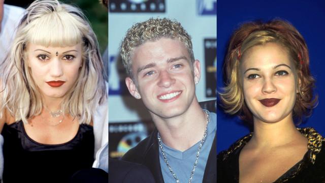 Todos os famosos vão querer esquecer estes penteados dos anos 90