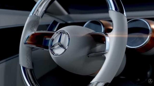 Mercedes-Maybach Vision: Um protótipo, no mínimo... deslumbrante