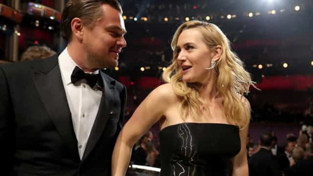 Leonardo DiCaprio e Kate Winslet apaixonados? Há quem diga que sim