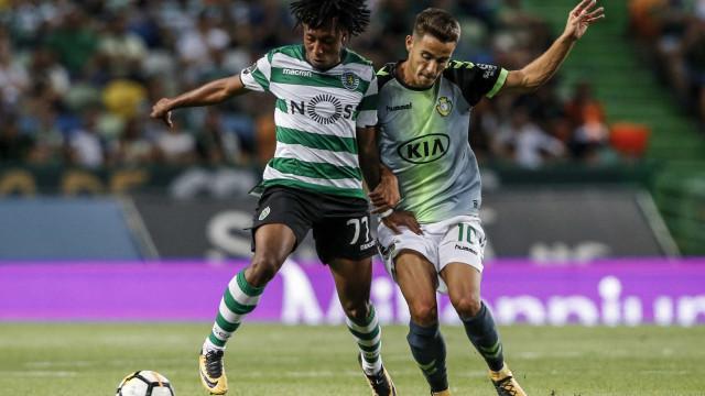 [0-0] Já se joga a segunda parte do Sporting-Vitória de Setúbal