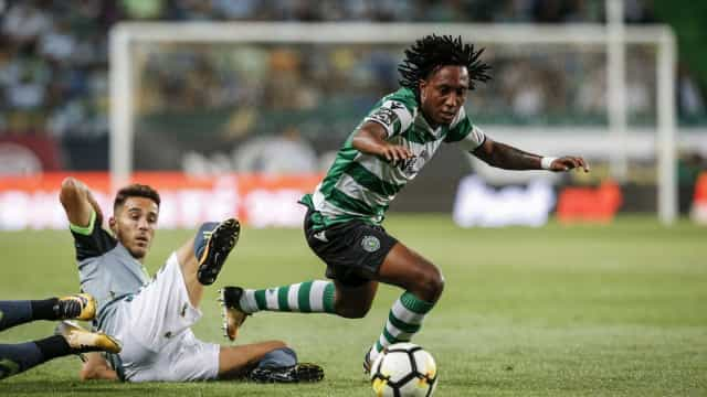 Gelson: Leões rejeitaram oferta do Atlético superior a 20 milhões