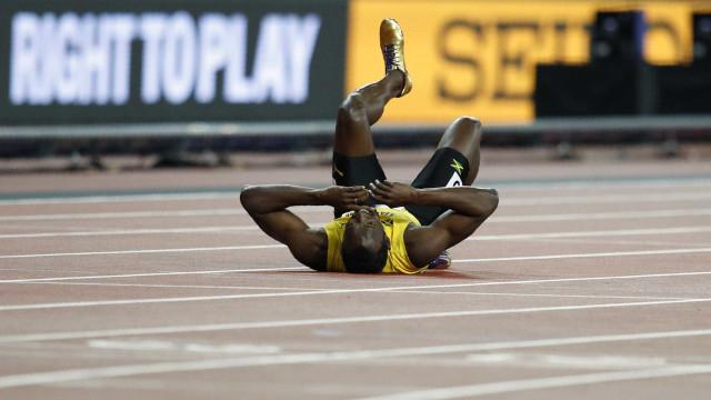 Mundiais de Londres: Bolt lesiona-se na última corrida da carreira