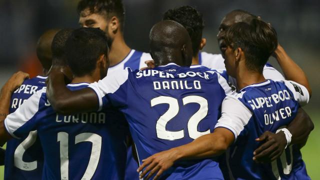FC Porto em versão 'light' vence pela margem mínima em Tondela