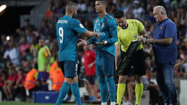 Dupla Benzema e Ronaldo já é comparada com... Depoitre