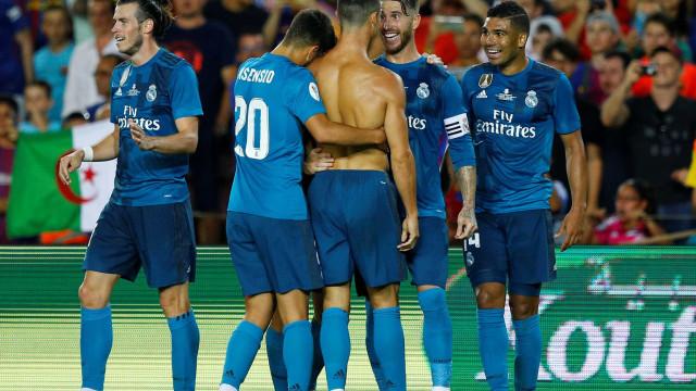 """Ronaldo marcou em Camp Nou e a reação foi """"estranha"""""""