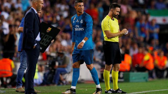 Oficial: Cristiano Ronaldo castigado por cinco jogos