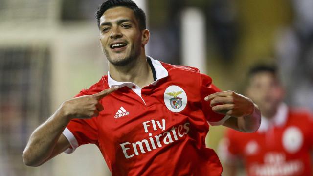 """Jiménez despede-se: """"Estou totalmente grato ao Benfica"""""""