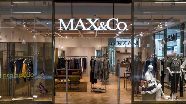 A roupa italiana da Max&Co vai ter morada em Cascais