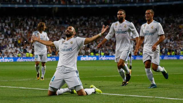 Sem CR7, Real Madrid derrota (novamente) o Barcelona e vence Supertaça