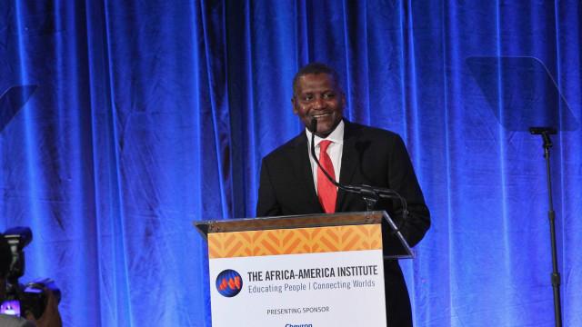 De olho na Europa, homem mais rico de África prepara-se para investir