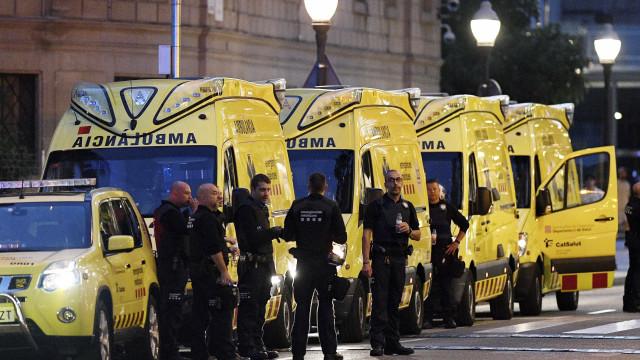 Presumíveis autores do atentado em Barcelona tinham outro plano