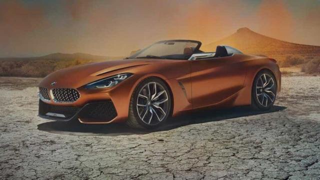 Eis as primeiras imagens do BMW Z4 Concept. Curioso?
