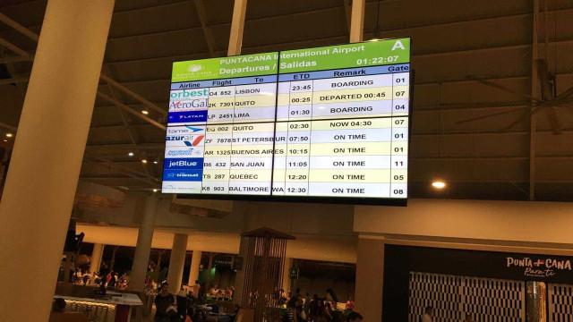 Atraso deixa passageiros portugueses retidos em Punta Cana
