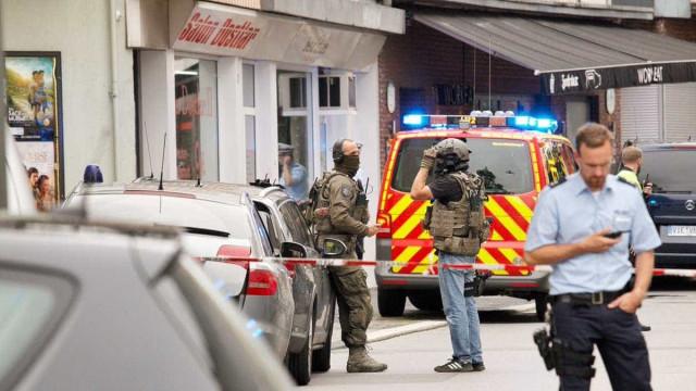 Uma pessoa morta após alegado ataque com faca na Alemanha