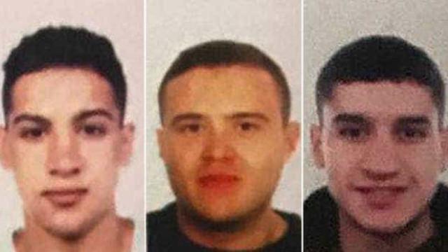 Polícia procura três fugitivos com ligações aos ataques em Barcelona