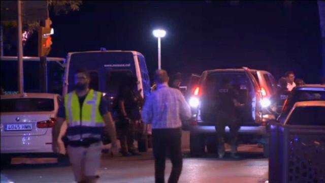 Oficial: Suspeitos abatidos foram todos identificados, há quatro detidos