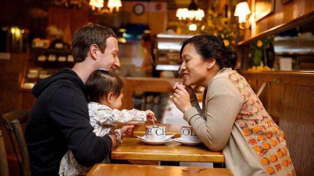 """A importância da licença de paternidade para Zuckerberg: """"Dois meses"""""""