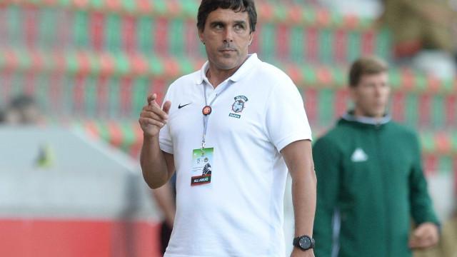 Daniel Ramos dedica prémio de treinador do mês à equipa do Marítimo