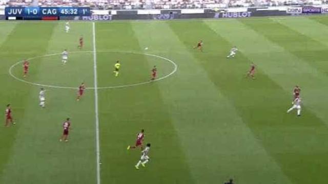 O golo foi de Dybala mas é o passe de Pjanić que está a dar que falar