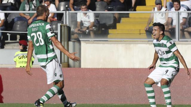 [0-4] (Mais um) grande golo de Bruno Fernandes dilata vantagem leonina