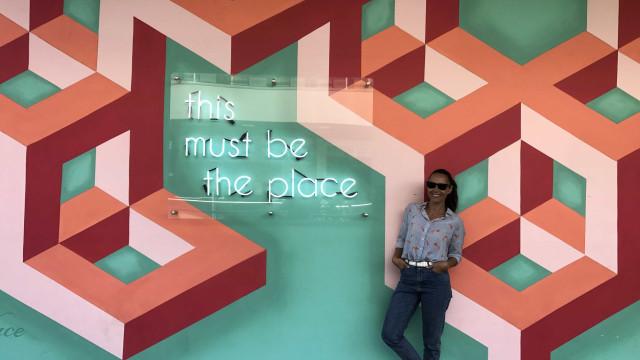 Iva Domingues descreve primeira semana em Los Angeles