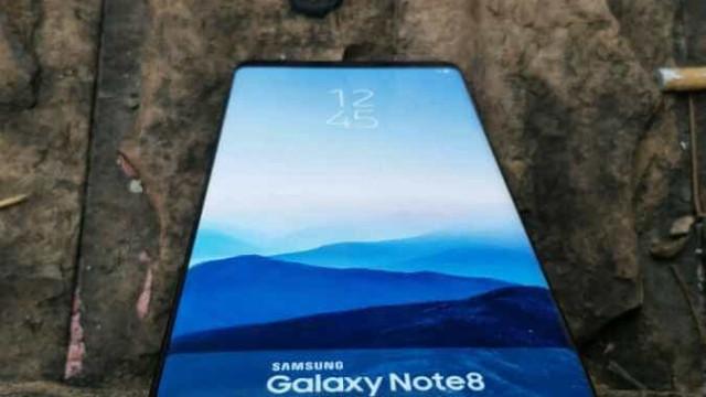 Galaxy Note 8 poderá chegar só em setembro