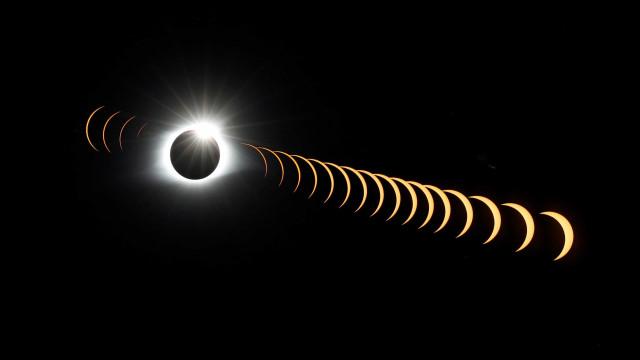 O eclipse solar que pôs meio mundo (até Trump) a olhar para o céu