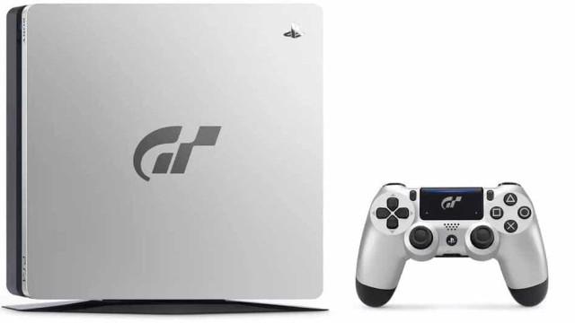 Vem aí nova versão da PS4 inspirada em Gran Turismo Sport