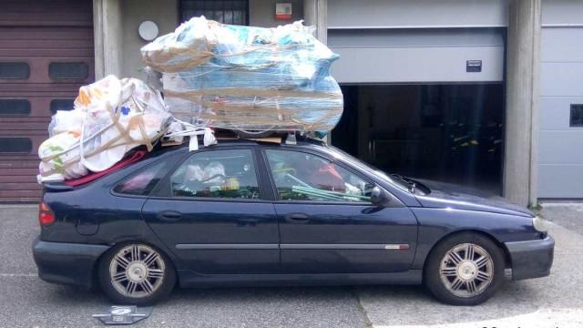 Multa de 135 euros para condutor com 400 quilos a mais no carro