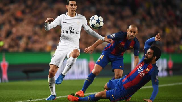 Barcelona 'anuncia' Di María... mas afinal tudo não passou de um ataque