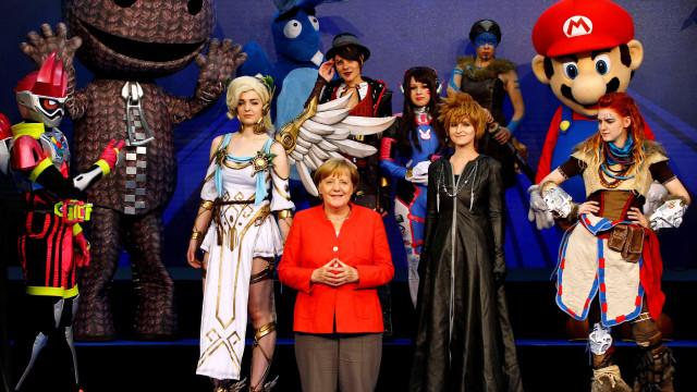 Uma volta pela Gamescom em imagens, a feira alemã a que nem Merkel faltou